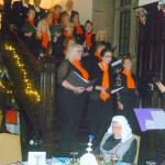 Cartmel Shepherd Community Choir sing at Penrith Beekeepers Tudor Banquet 2015